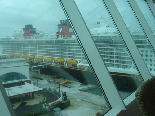 Crucero en tormenta