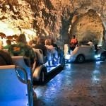 La Cueva Harrison y su tranvía eléctrico, en Barbados