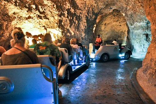 La Cueva Harrison Y Su Tranvía Eléctrico En Barbados