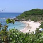 Pointe Tarare, la playa nudista de Guadalupe