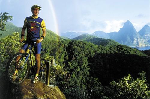 Ciclismo en Santa Lucia