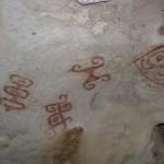 La Cueva Fontein, dibujos rupestres en Aruba