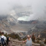 El Parque Nacional Volcán Poás en Costa Rica
