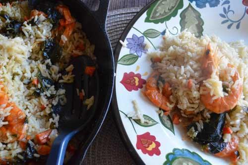 Como preparar el arroz con chacalines for Como cocinar arroz