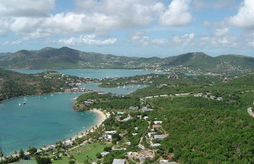Islas Leeward en las Pequeñas Antillas