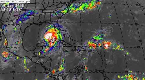 Huracanes sobre el Caribe