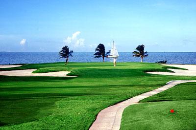 golf en el Caribe