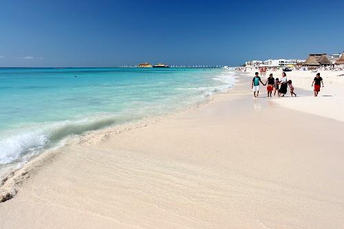 Playa del Carmen, en el Caribe mexicano