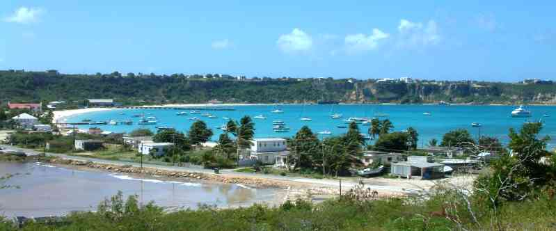 Road Bay, playa en Anguilla