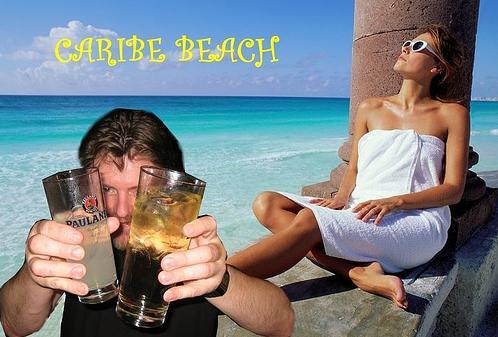 beber en el Caribe