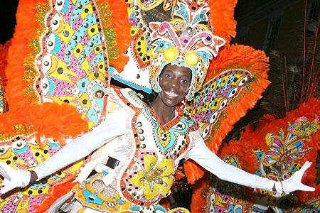 Fiesta de Carnaval en el Caribe