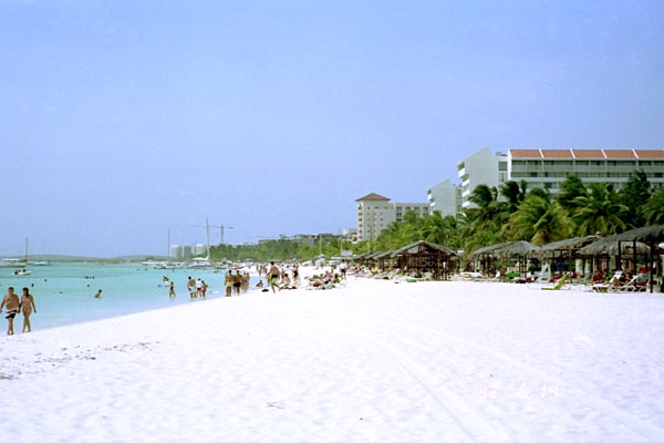 Playa de Aruba, Manchebo Beach