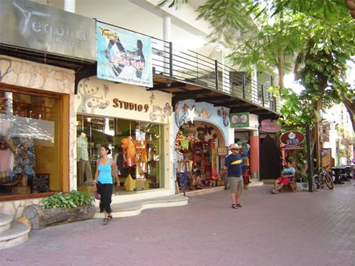 De compras en Playa del Carmen, Riviera Maya