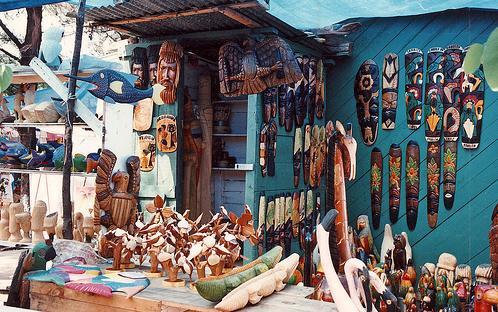 Comprando en Jamaica