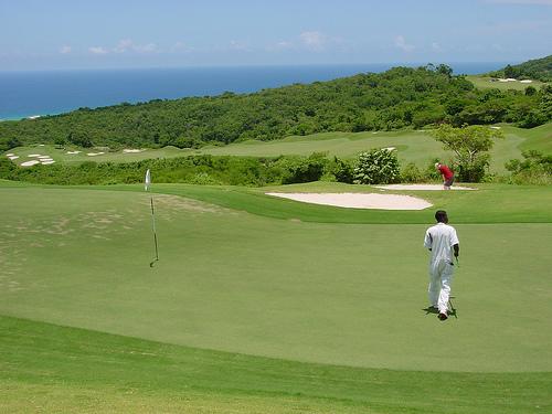 Lugares para jugar al golf en el Caribe