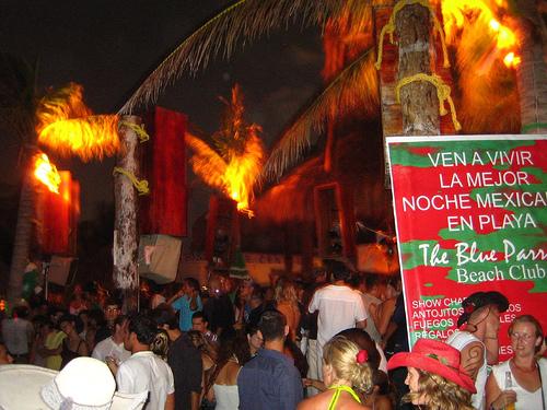 Riviera Maya de noche