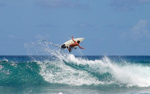 Hacer Surf en el Caribe