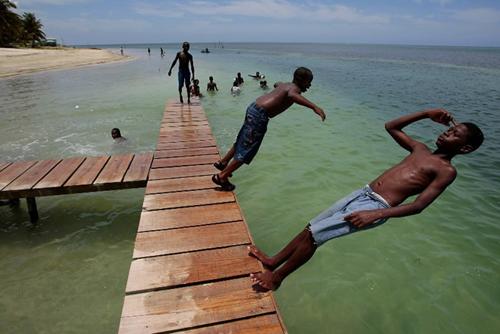 Isla de Roatan, refugio de piratas en Honduras