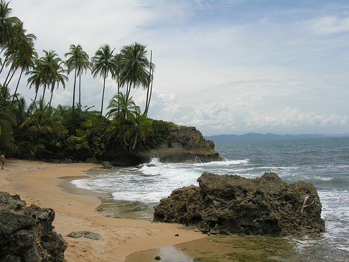playa refugio gandoca