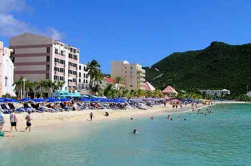 Great Bay, playas de St. Martin