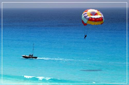 Parasailing en Santa Lucia