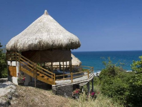 Playas en el parque nacional tayrona caribe colombiano - Cabanas en la playa ...