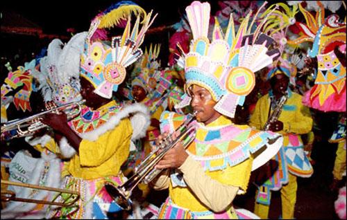 Festival Junkanoo, Islas Bahamas
