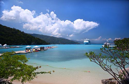 Playa Labadee, la perla de Haiti