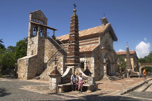 iglesia altos de chavon