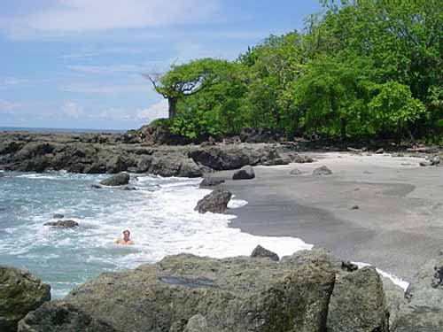 La Playa Montezuma, en Costa Rica