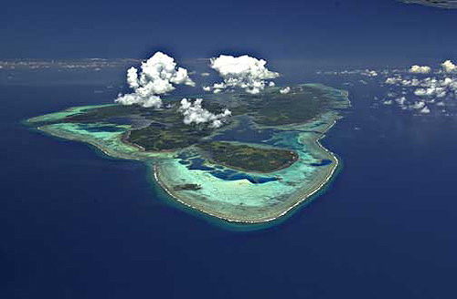 Tipos de islas caribeñas