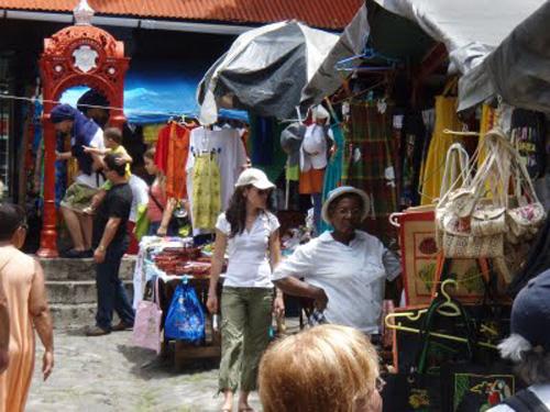Compras en el Caribe