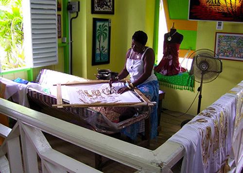 Fabrica de batik