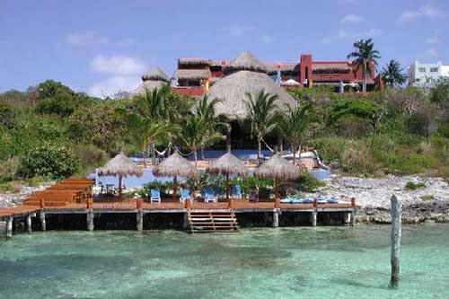 Casa de sue os un hotel sin ruidos en isla mujeres for Casa de los suenos