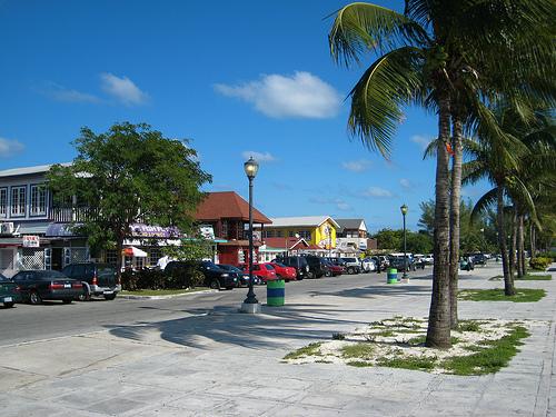 Cayo Arawak, pura fiesta en Bahamas