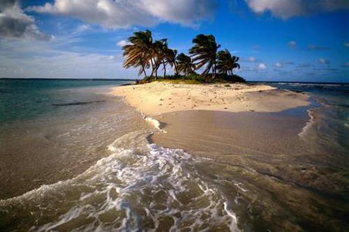 Isla Sandy, paraíso privado frente a Anguila