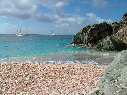 Shell Beach, en St. Barths