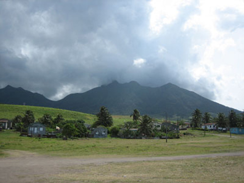 volcan de san cristobal