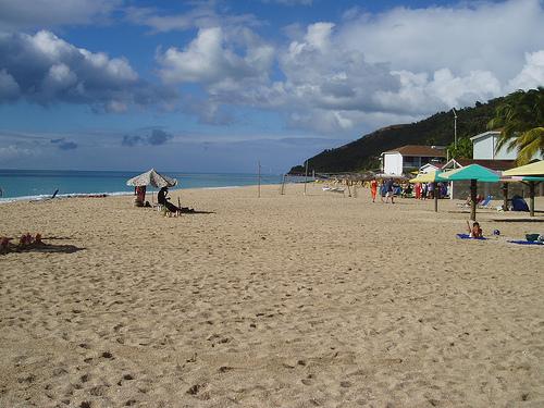 Jhonson's Point, una tranquila playa en Antigua