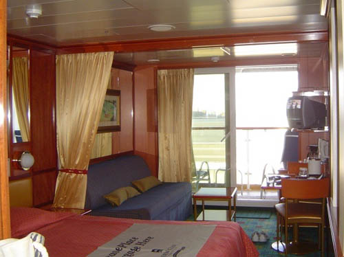 mini suite norwegian dawn