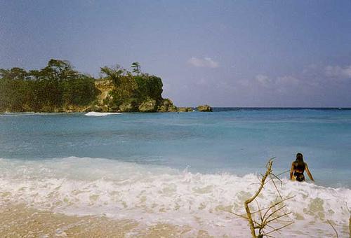 Shanshy, una playa escondida en Jamaica