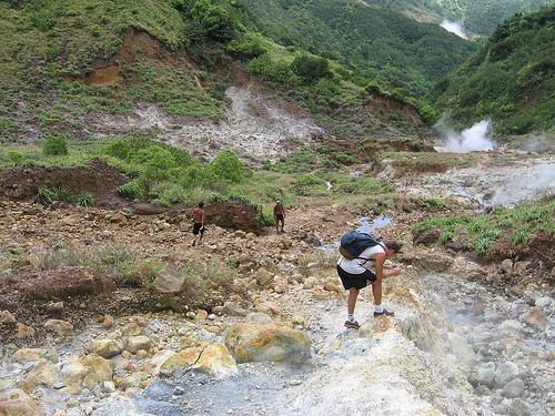 Valle de la Desolación, un paseo en Dominica