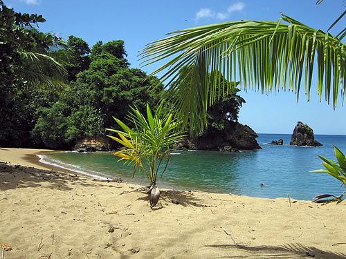 Algunas playas en Tobago