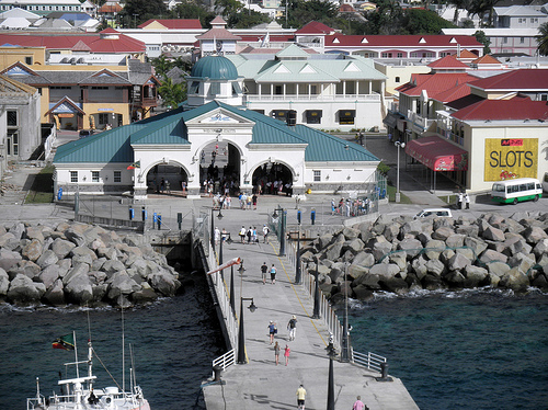 Basseterre, la capital de San Cristobal y Nieves