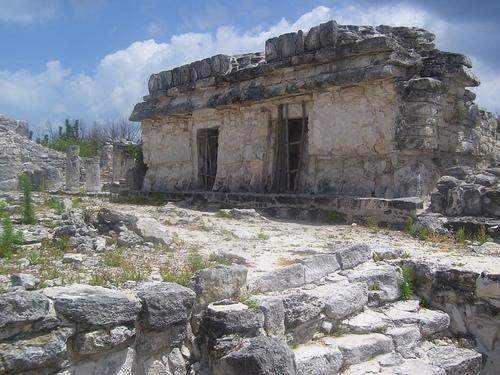Las ruinas de El Rey, en Cancún