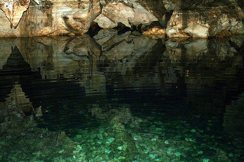 gruta verde
