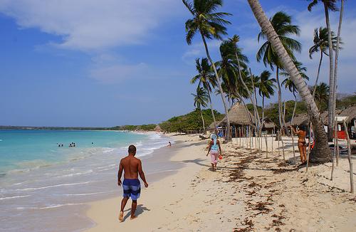 Playa Blanca, Isla de Baru