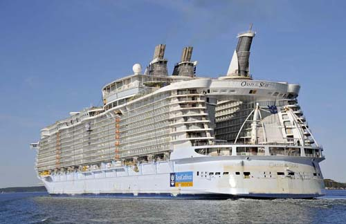 Fin de Año a bordo del Oasis of the Seas