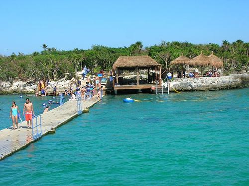 Parque Xel-Ha, en Cancun