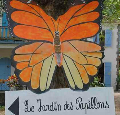 jardin de las mariposas